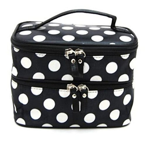 DATEWORK Double Cosmetic Storage Toiletry