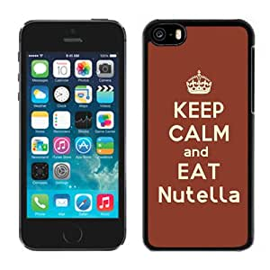 Keep Calm And Eat Nutella Durable High Quality iPhone 5C Phone Case