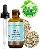 WHITE CHIA OIL. 100% Pure/Natural Cold Pressed