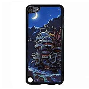 Howl'S Moving Castle Phone Case Stylish Design for Ipod Touch 5th Generation Miyazaki Amine Movies