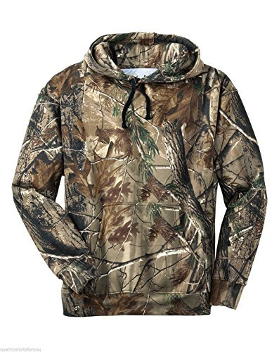 Camo Pullover - Russell Outdoors Mens Hoodie Realtree AP Camo Hunting Sweatshirt (Small)