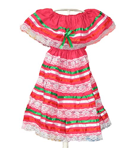 Mexican Child Dress Coco Theme Party Peasent Dress Hippie Dress