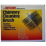 "Rutland 11"" X 7"" Rectangular, Wire, 1/4"" Pipe Thread Chimney Sweep"