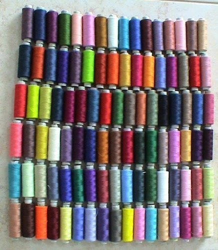100 POLYESTER SEWING SERGER QUILTING THREAD SPOOLS ALL PURPO