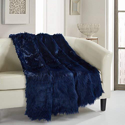Chic Home 1 Piece Penina Shaggy faux fur design 50 x 60