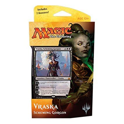 Magic MTG, Rivals of Ixalan, Vraska, Scheming Gorgon, Planeswalker Deck
