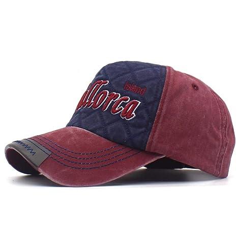 Unexceptionable-Baseball Caps Mallorca Bordado Letras Snapback ...