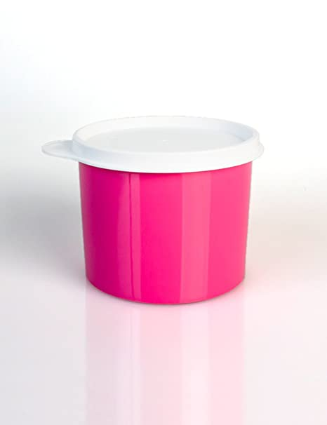 Para frutas y verduras Latas coloridas de bocadillos Cajas de plástico selladas Casquillos redondos Cajas de