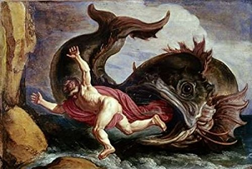Jonah and the Whale Poster Print by Pieter Lastman