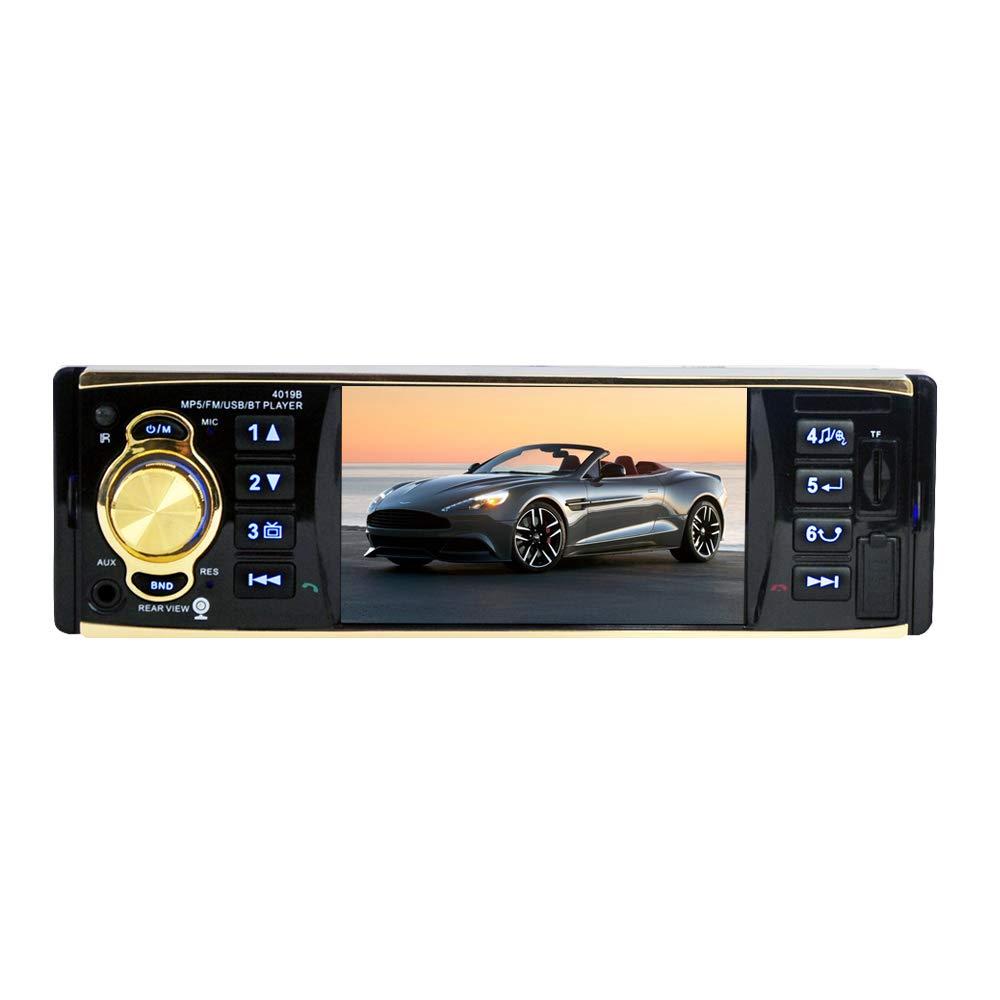 Single DIN Car Player, Universal 4.1 Pulgadas HD Pantalla ...