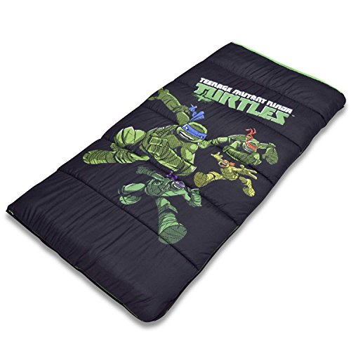 Cambay Linens Nickelodeon Kids Teenage Mutant Ninja Turtles Sleeping Bag Storage Bag, Black by Cambay Linens (Image #3)