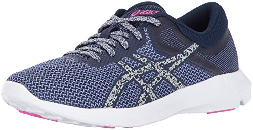 ASICS Womens Nitrofuze 2 Running Shoe, Persian Jewel/Glacier Grey/Pink Glow, 10 Medium US