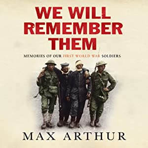 We Will Remember Them Audiobook