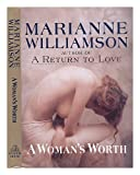 A Woman's Worth, Marianne Williamson, 0679422188