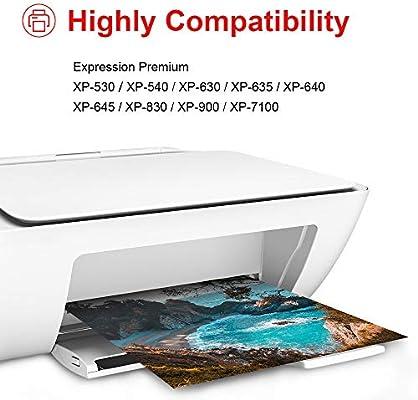 Uniwork 33XL Cartuchos de Tinta Reemplazo para Epson 33 33XL 33 XL ...