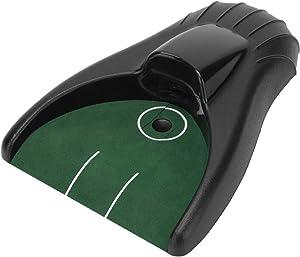 KEENSO Golf Putting Return Machine,Golf Putting Green,Golf Ball Kick Back Putting Mats,Battery‑powered return ball,Practice At Home,Office,Parties