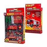 Big-Daddy Fire Rescue Toy Play Set Starter Kit Includes More Than 10 Fire Truck Toys And Accessories To Create The Perfect Emergency Scene