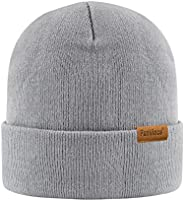 Beanie Daily Winter Thermal Hats Cuffed Knit Warm Skull Cap for Men Womens Gifts