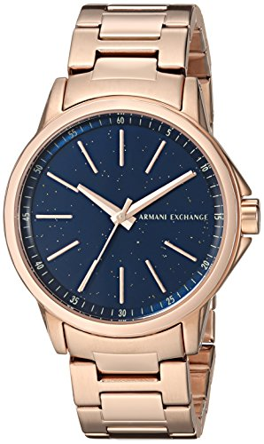 Armani Exchange Women's  Rose Gold Stainless Steel  Watch AX4352