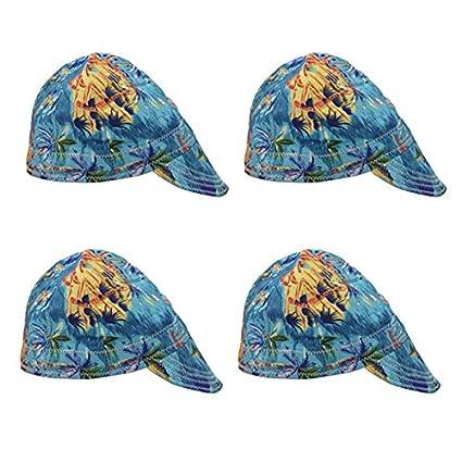 B Blesiya 4x Moda Elástico Soldador Soldador Sombrero Repuesto Decorativos Herramienta Manual