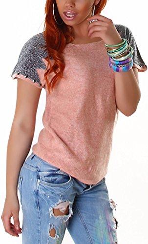 Voyelles - Camiseta sin mangas - para mujer Salmon Pink