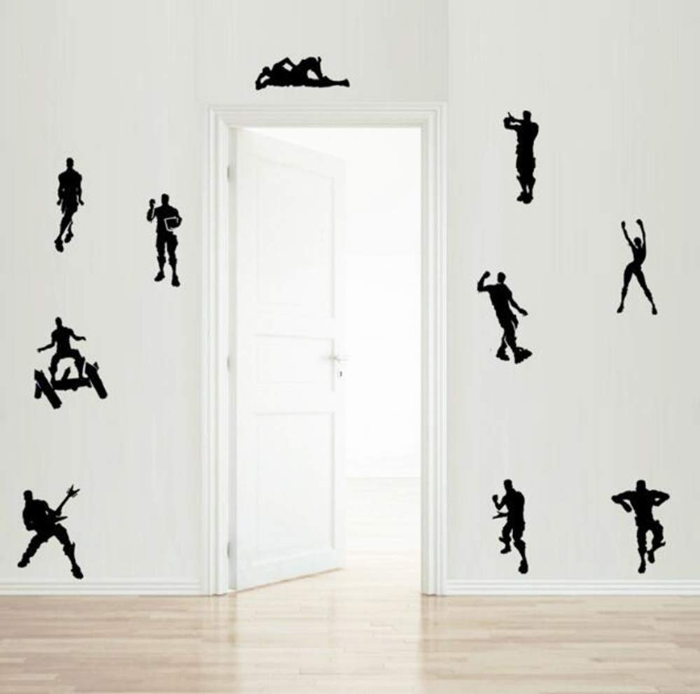 Game Wall Stickers Poster Floss Dancing Wall Decor Peel, Game Stick Poster Decals, Floss Vinyl Wallpaper for Kids Rooms (18.5'' x 16.5'') by Kepom (Image #4)