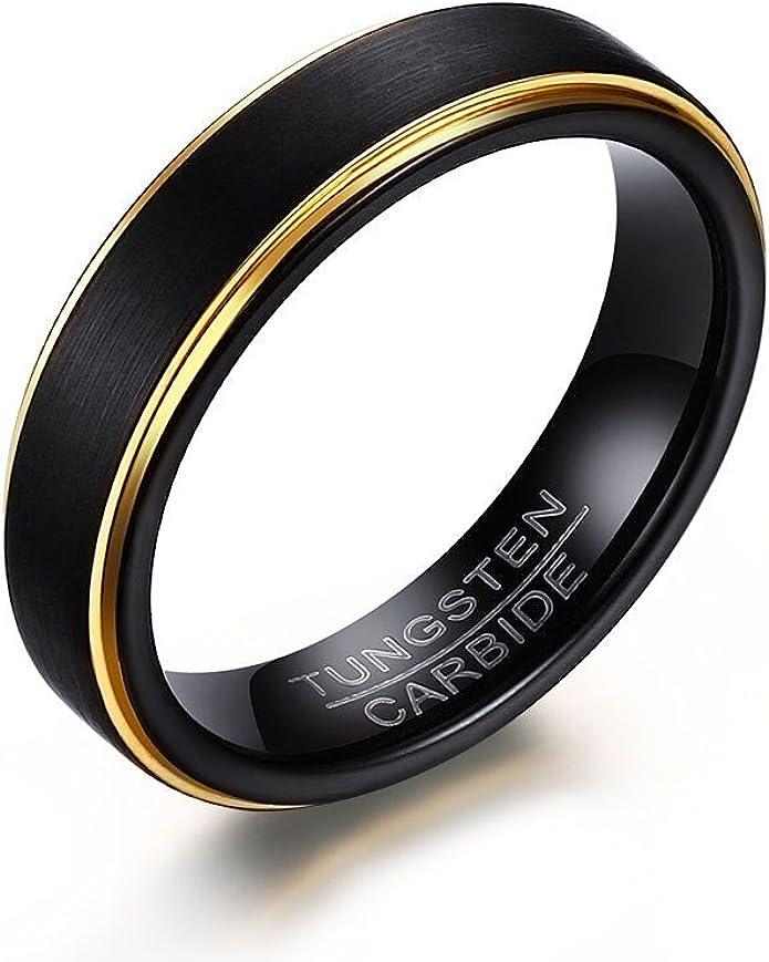 Ring Size 11 Security Jewelers Titanium 5mm Oxidized Flat Band Size 11