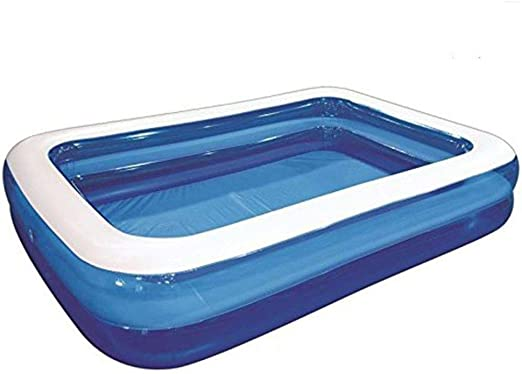 Hillington Jumbo Deluxe - Piscina Familiar Hinchable Rectangular ...