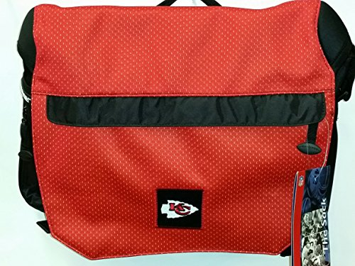 NFL Sport Messenger Bag, ''Kansas City Chiefs'' NEW by THE SACK