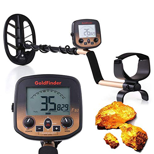 Küchenks Metal Detector for Adults Kids, Handheld Underground Metal Finder with High Sensitivity Waterproof Search Coil for Gold Digger Treasure Hunter