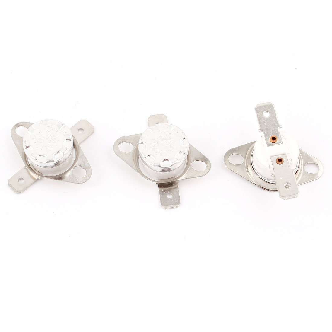 uxcell 3 Pcs KSD301 NC Temperature Switch Thermostat 165 Celsius 250V 10A SYNCF2004855