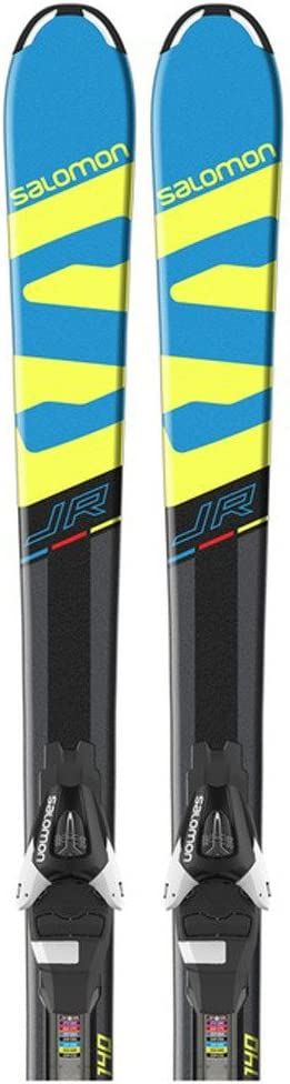SALOMON SKI Set E SRace Rush Jr + L7 B80: : Sport