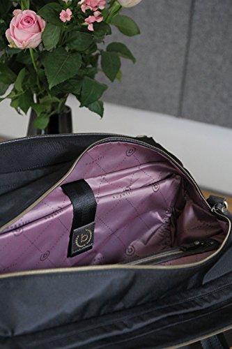 sac Sac RFID élégant end voyage week Bugatti pour noir de nylon Contratempo femmes 1aHfWz6f