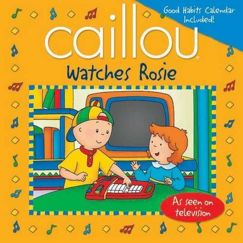 Read Online Caillou Watches Rosie (Playtime) pdf