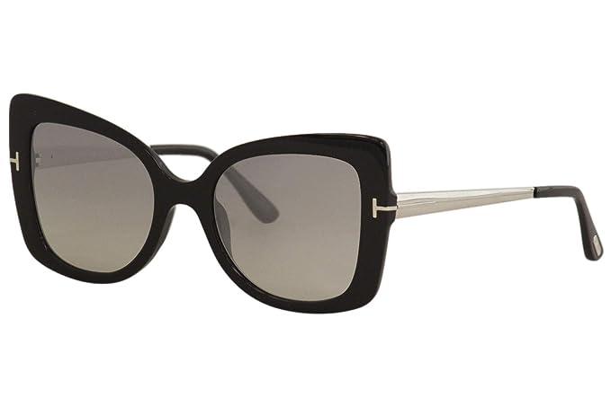 Amazon.com: Tom Ford FT0609 01C - Gafas de sol con diseño de ...
