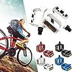 Bestine-Mountain-Bike-Pedale-in-lega-di-alluminio-Mountain-Bike-Road-Bike-Pedali-MTB-Pedali-e-Bicicletta-a-cambio-fisso-Adatto-916-pollici