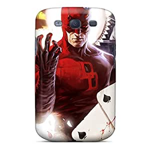 Perfect Hard Cell-phone Case For Galaxy S3 (GJJ9820XoNN) Provide Private Custom Realistic Daredevil I4 Pictures