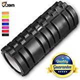 JBM Foam Roller Muscle Roller Massage Deep Tissue Roller ( 7 Colors )Back Leg Body Roller help Muscle Stretch Physical Therapy Self Myofascial for Yoga Exercise Fitness Crossfit Lifting Workout