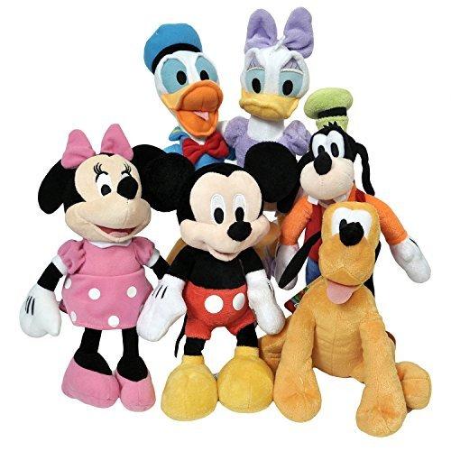 "Disney 11"" Plush Mickey Minnie Mouse Donald Daisy Goofy Plut"