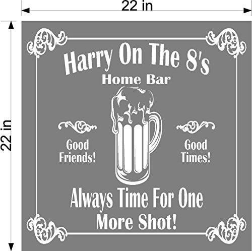 Beer Mug Bar Name Mirror, Personalized Bar Mirror, Custom order for Jacqueline