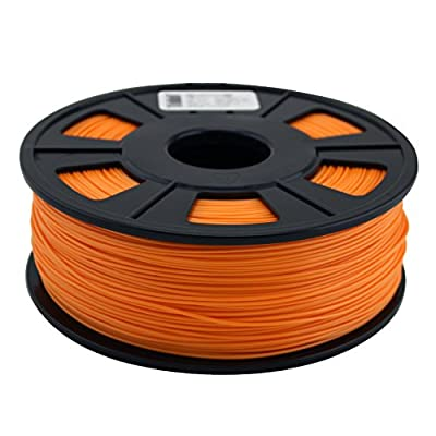 Quantum 3D Orange 1.75 mm ABS PRO 3D Printing Filament (1.0 kg Roll)