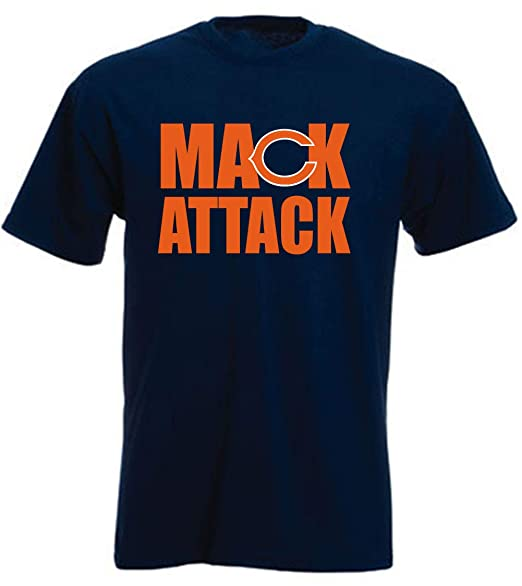 Amazon.com  Navy Chicago Mack Attack T-Shirt  Clothing 6702747d1