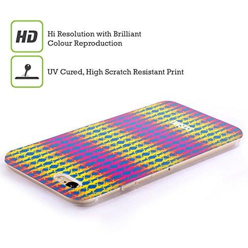Official Cosmopolitan Multicolour 1 Boho Patterns Soft Gel Case for Apple iPhone 6 Plus / 6s Plus