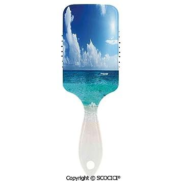 Amazon.com: Cepillo de pelo desenredante suave peine cojín ...