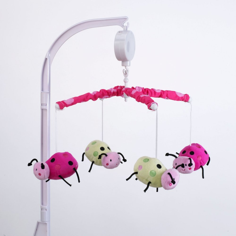 Lil Lady Bug Musical Mobile by Belle