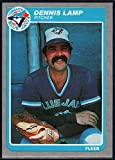 Baseball MLB 1985 Fleer #111 Dennis Lamp Blue Jays