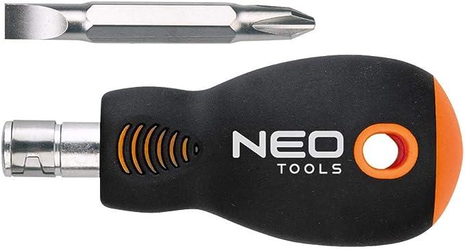 Neo Tools 06-104 Juego de 100 puntas destornilladores con mando