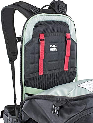 EVOC Sports FR Trail E-Ride Protector Backpacks, Color Negro ...