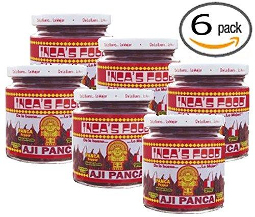 - Inca's Food Aji Panca Paste - 7.5 Oz (6-Pack)