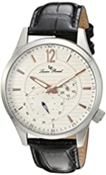 Lucien Piccard Watches Burano Leather Band Watch